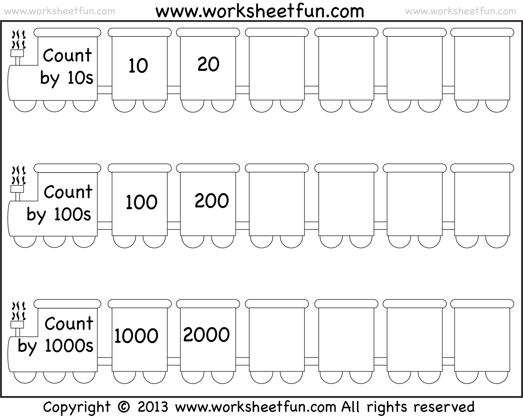 worksheet Skip Counting By 10 Worksheets kindergarten counting worksheets 1 100 templates and missing numbers to worksheet education com