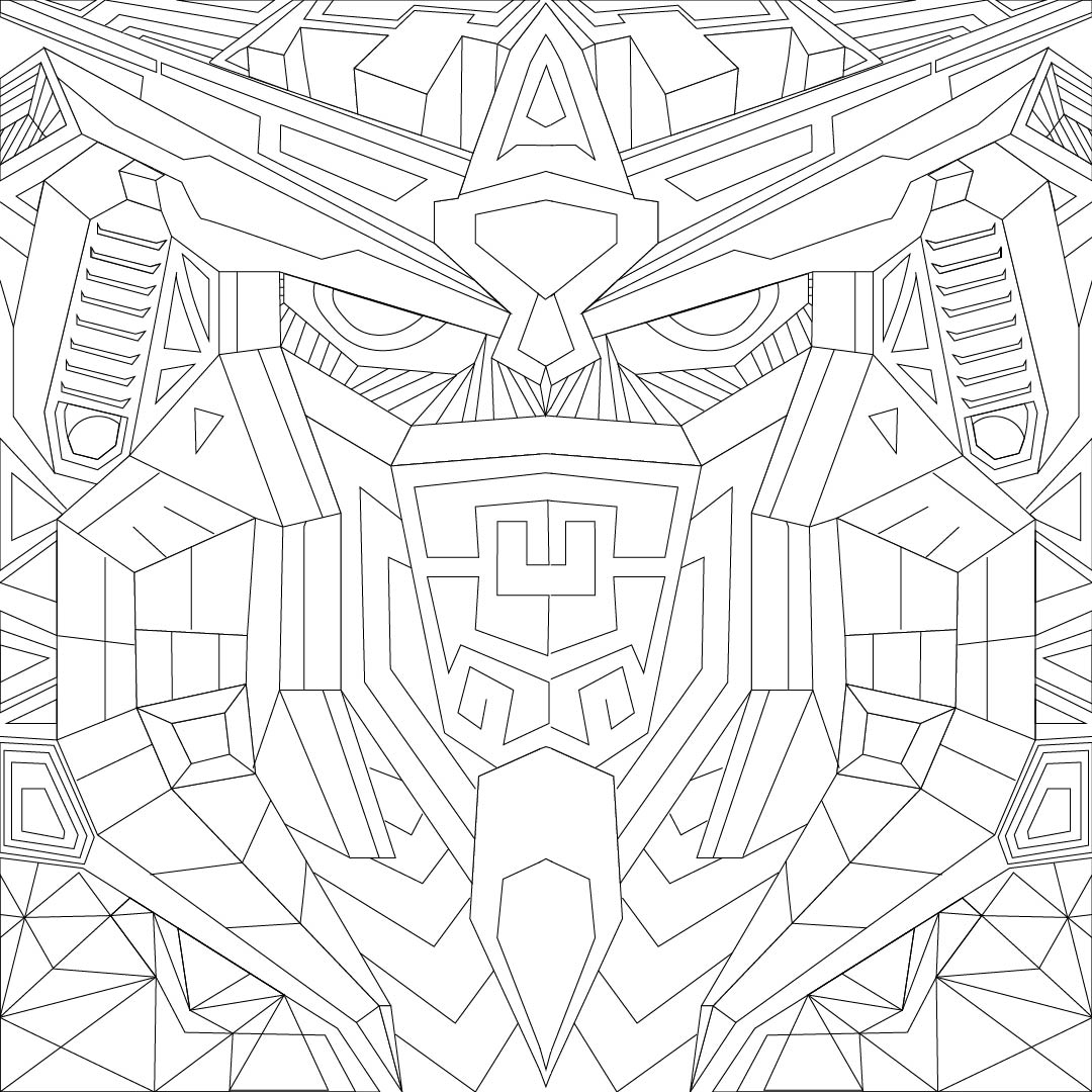 Adult Pattern Coloring Pages