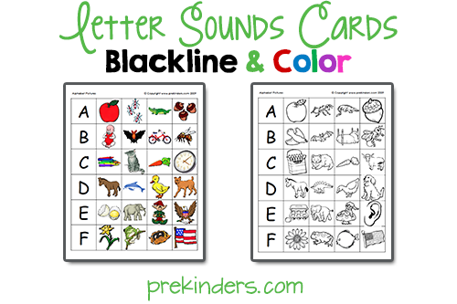 7 Images of Printable Letter-Sound Games
