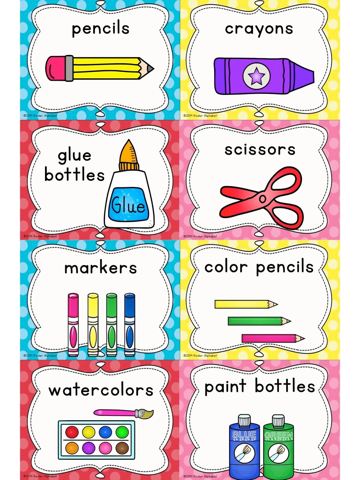 Classroom Layouts For Kindergarten ~ Best images of preschool classroom labels printable