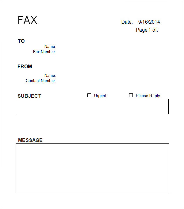 Cover letter format word blank fax cover - researchmethods ...