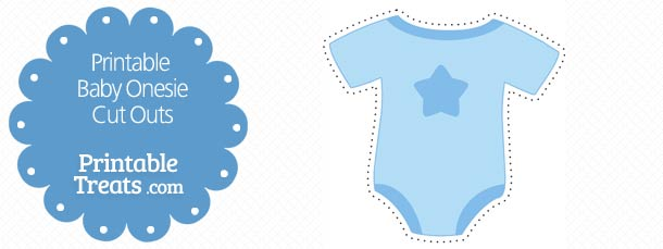 8 Images of Baby Cut Outs Printable