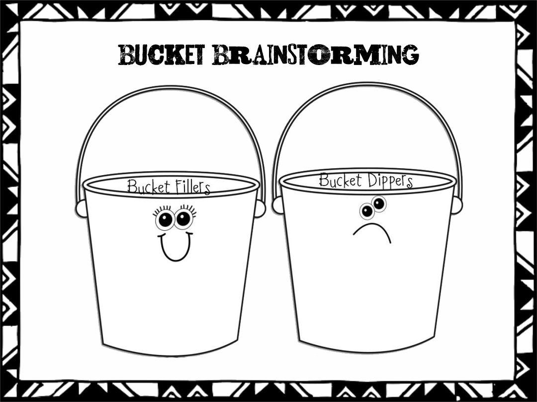 Bucket Filler Coloring Activity