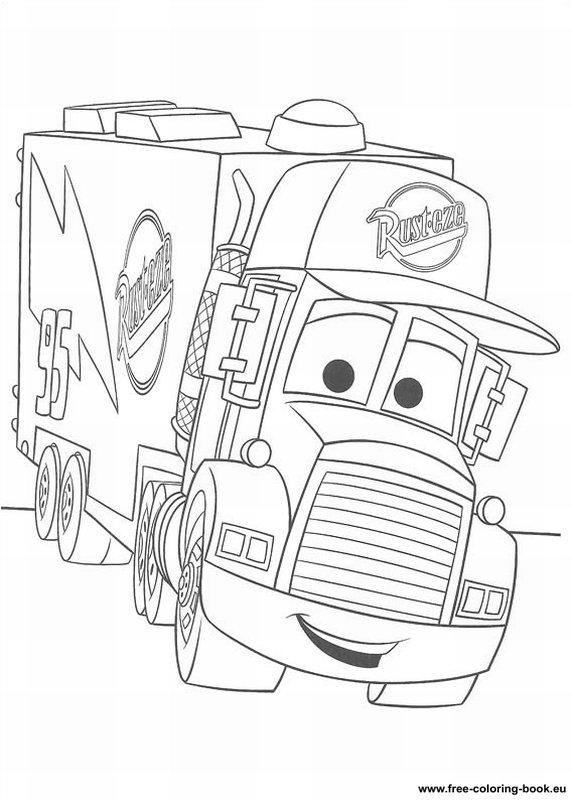 5 Images of Disney Pixar Printable Coloring Pages