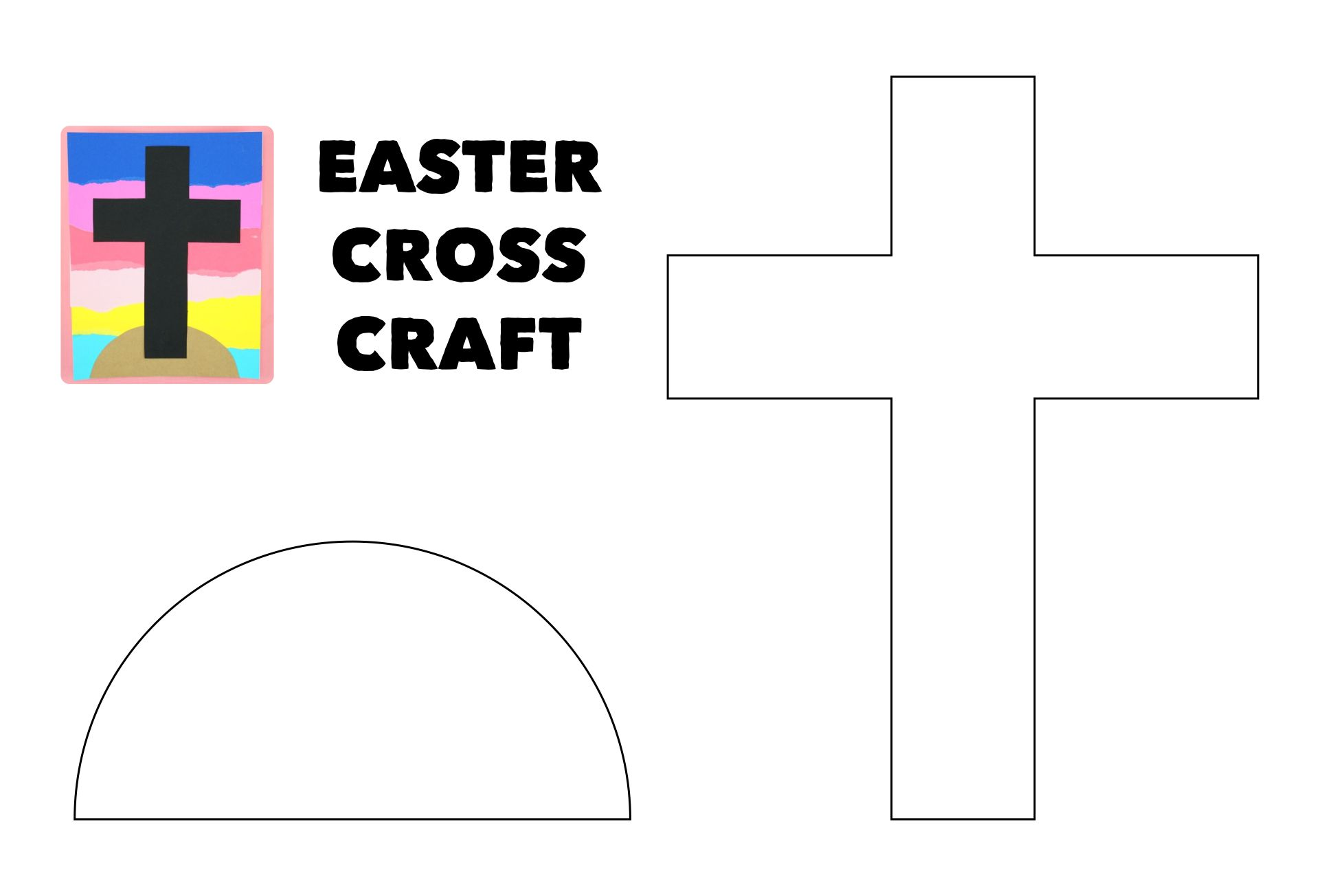 7 Images of Free Printable Religious Easter Crafts