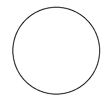 Circle Template Print Out
