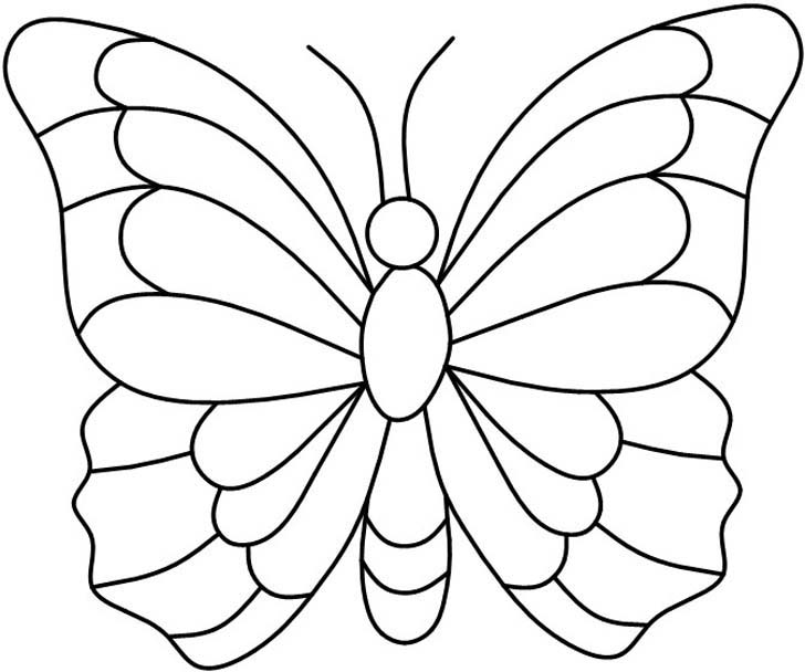 8 Best Images of Printable Butterflies Pattern Template ...