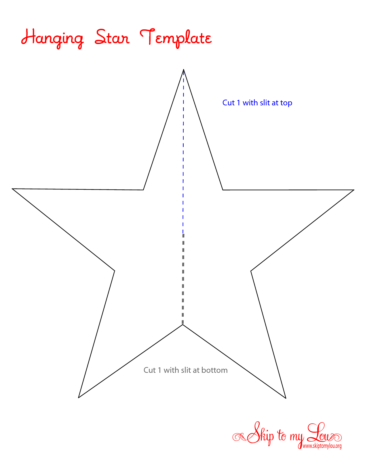 6 Images of Extra Large Star Template Printable