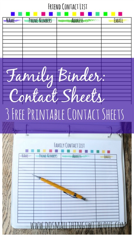 7 Images of Free Printable Binder Sheets