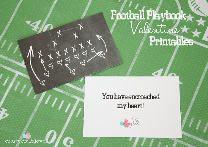 4 Best Images of Football Free Printable Cards Football Birthday – Football Valentines Day Cards