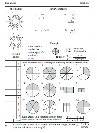 Printables Fraction Review Worksheet fraction review worksheets davezan worksheet davezan