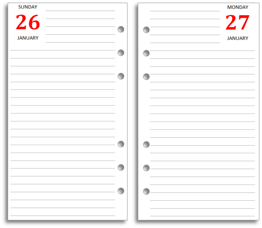 9 Images of Personal Journal Templates Printable