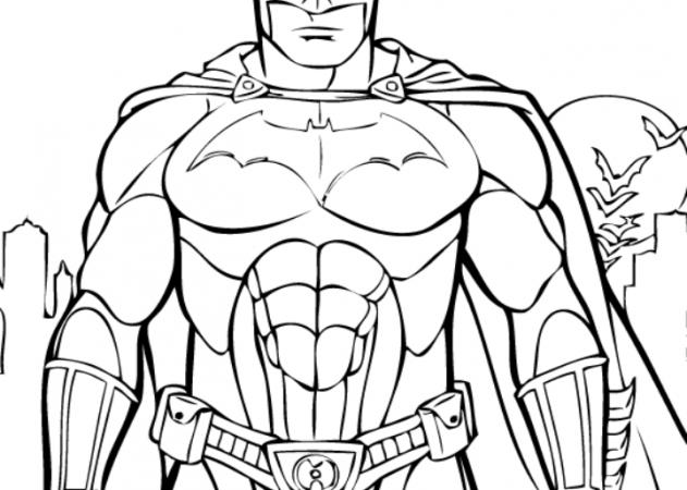 big batman coloring pages - photo#11
