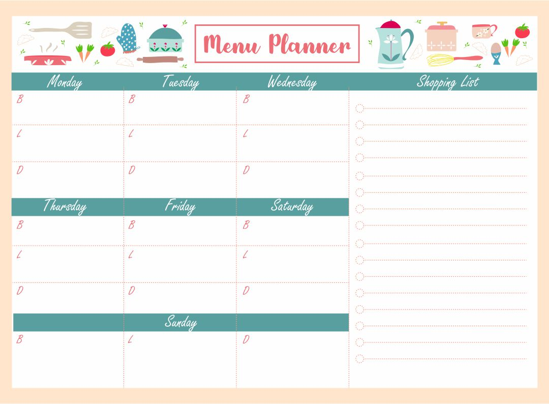 Lunch Menu Template Related Keywords Suggestions Lunch Menu – Lunch Menu Template