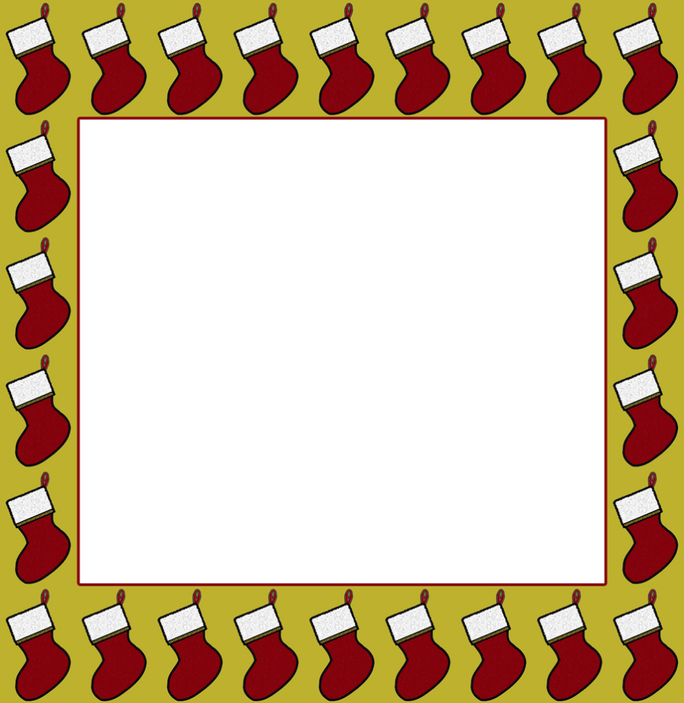 4 Images of Free Printable Christmas Borders And Frames