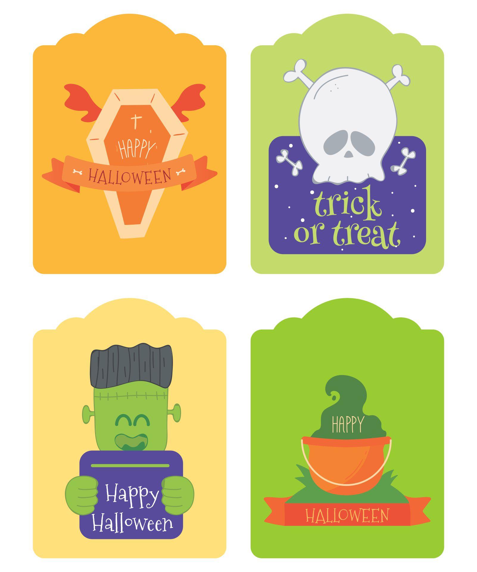 7 Images of Free Printable Halloween Jar Labels
