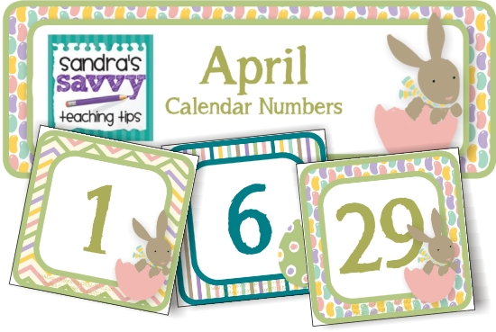 April Calendar S Kindergarten : Best images of free printable april calendar pieces
