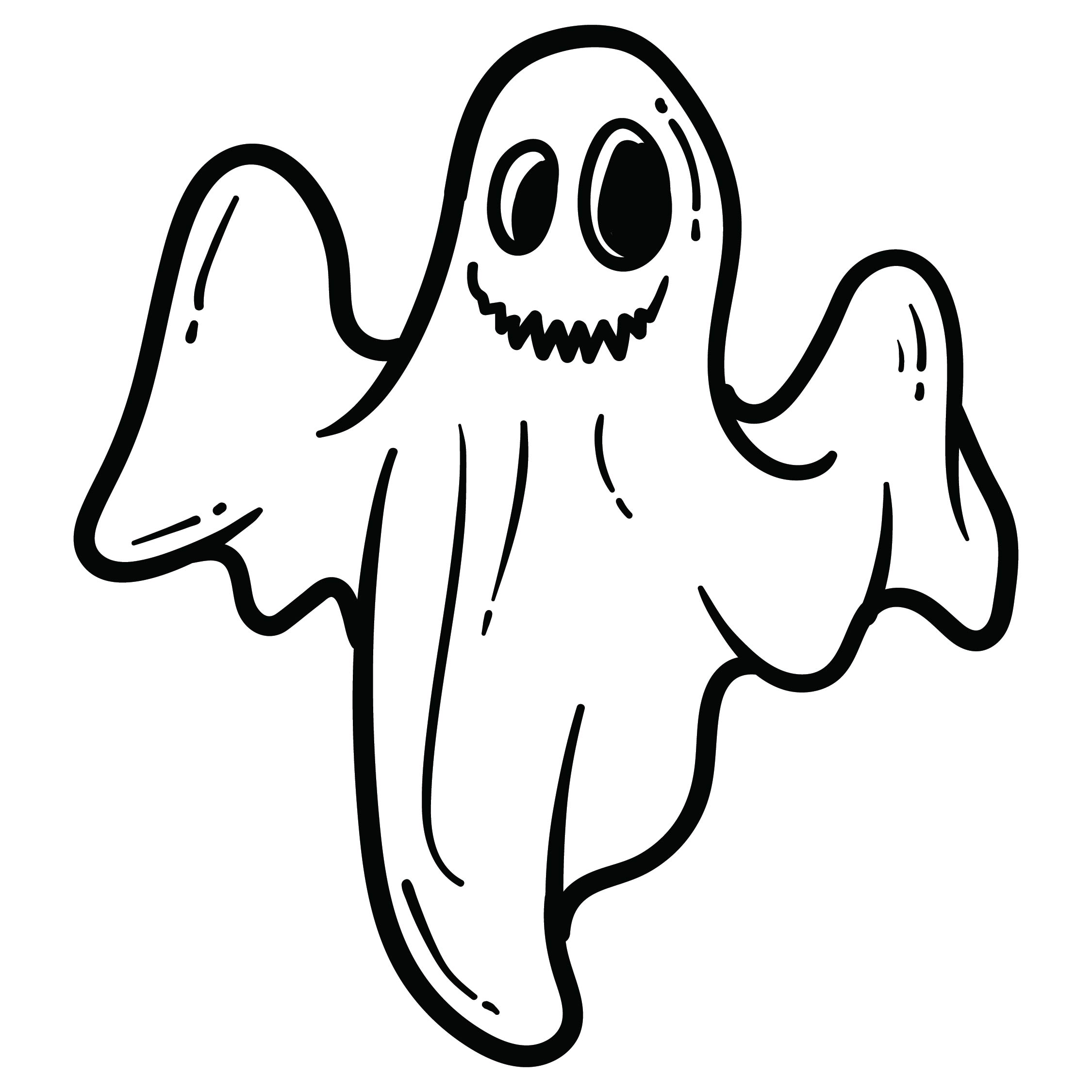 Halloween Ghost Stencils Printable Free