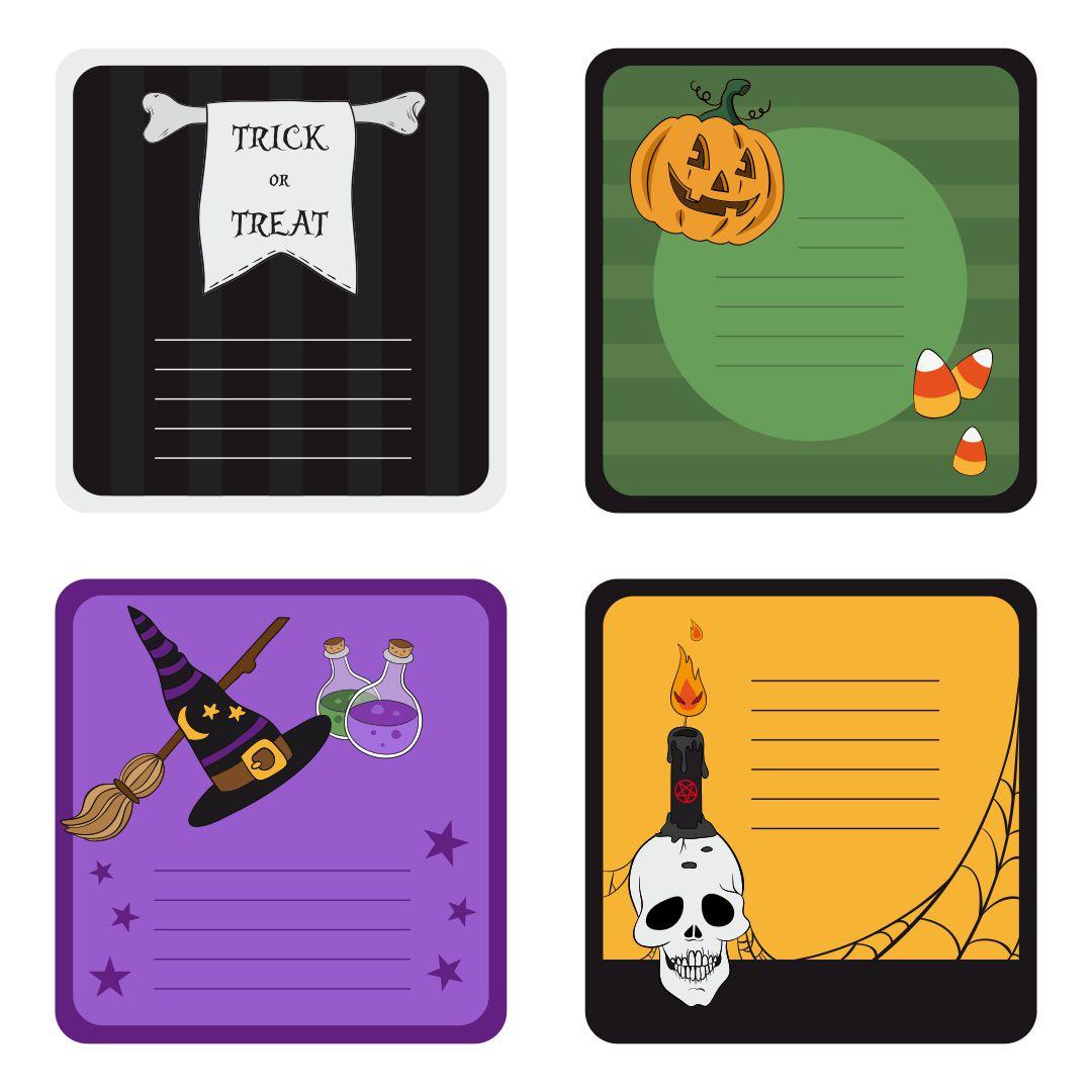 Halloween Printables Labels