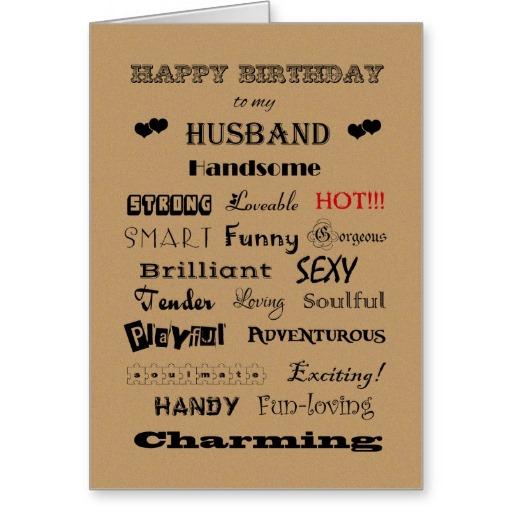 Happy Birthday Cards For Husband gangcraftnet – Happy Birthday Cards for Husband