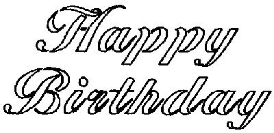 Happy Birthday Stencil Free Printable Cowic