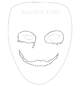 5 best images of printable joker mask joker printable for Batman face mask template