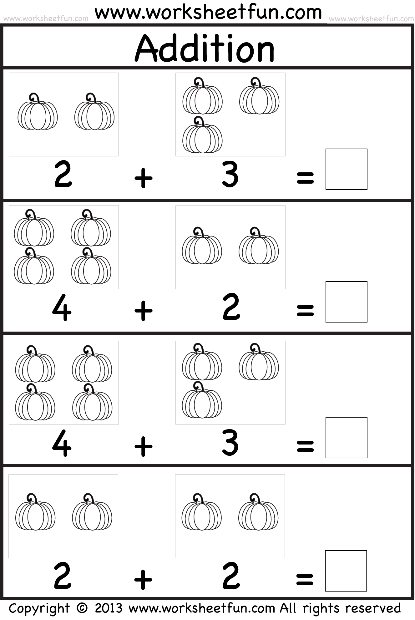 math worksheet : simple addition worksheets kindergarten  synhoff : Kindergarten Math Addition Worksheets