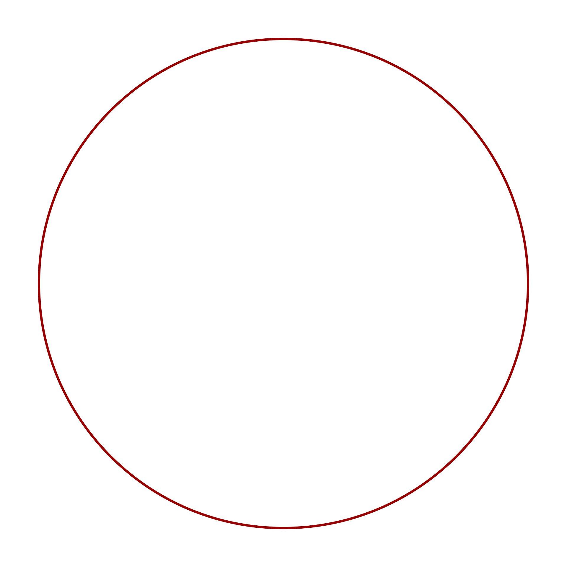 Large Circle Template Printable