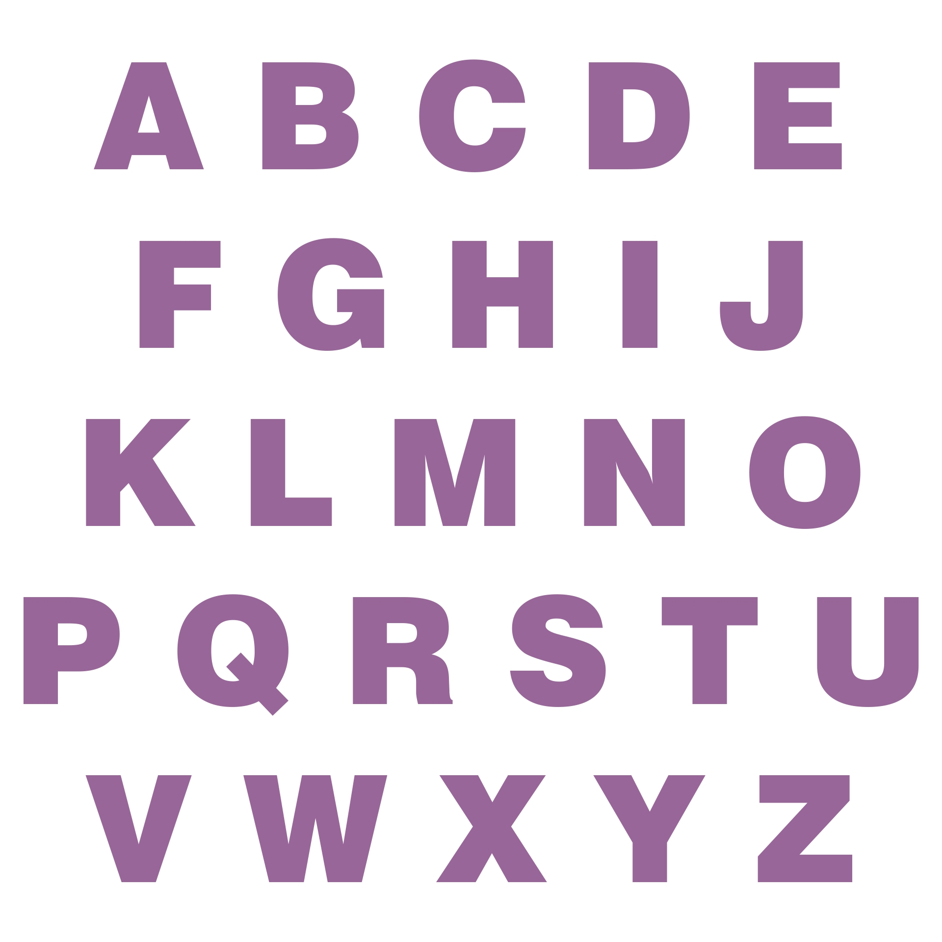 9 Images of Full Size Printable Letters