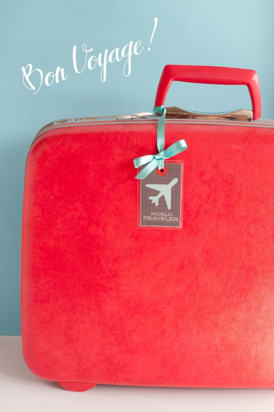 6 Images of Cute Printable Luggage Tags