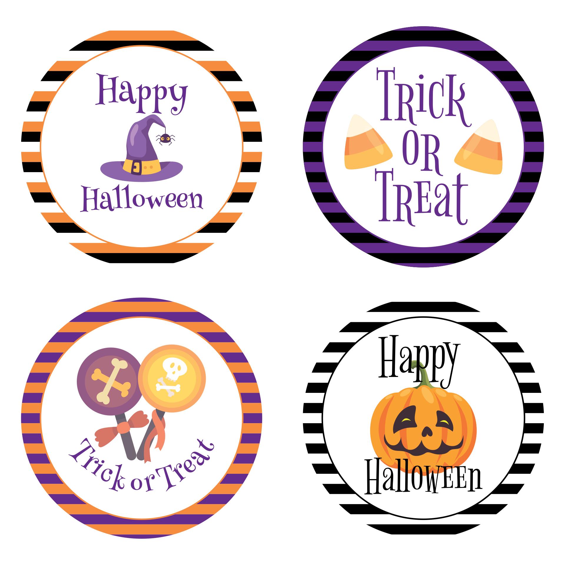 7 Images of Halloween Printable Labels Mason Jar