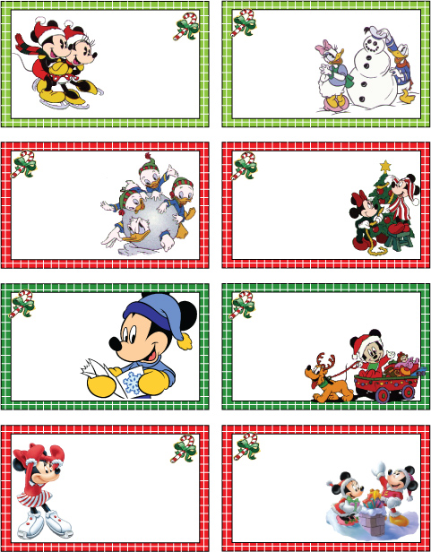 6 Images of Disney Printable Holiday Templates