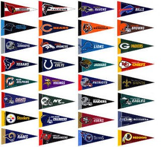 6 Images of Printable Mini Pennants College