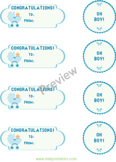5 best images of congratulations it 39 s a boy printable for Free printable baby shower favor tags template