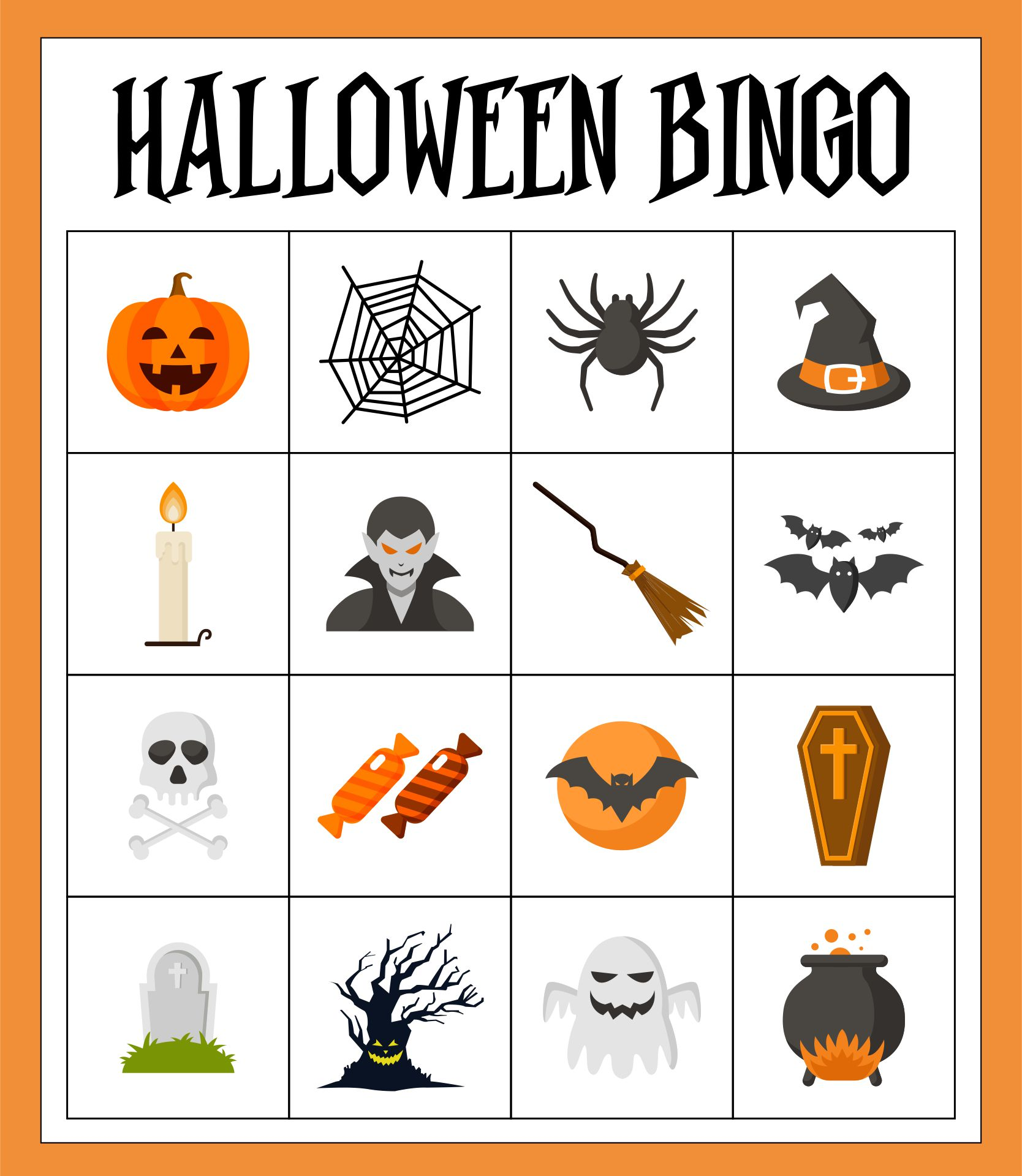 Printable Halloween Party Games