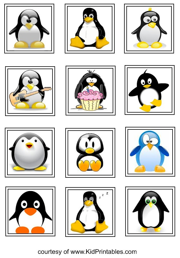 Printable Kids Stickers