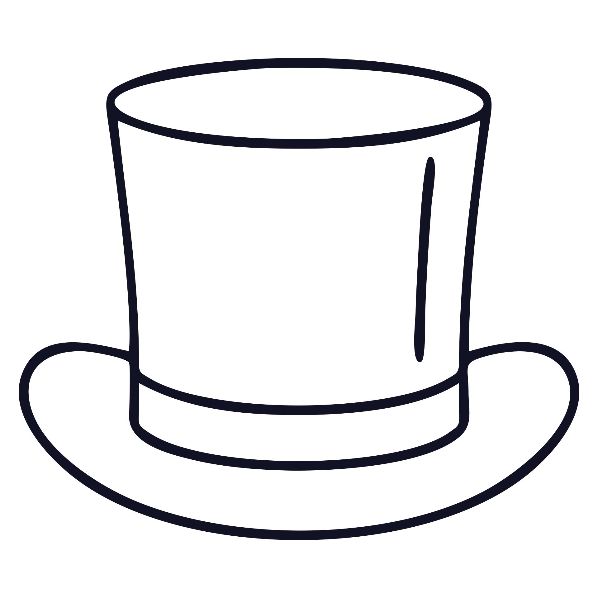 Snowman Top Hat Templates