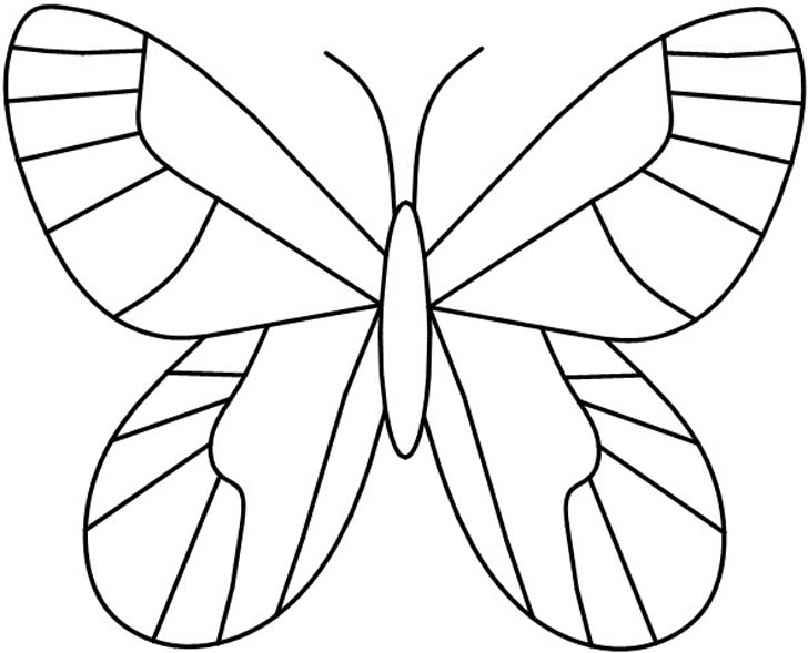 8 Images of Printable Butterflies Pattern Template
