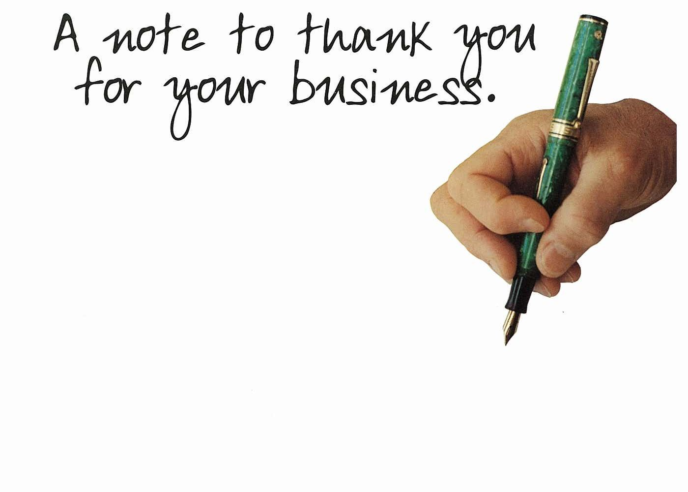 6 Images of Printable Thank You For Your Business