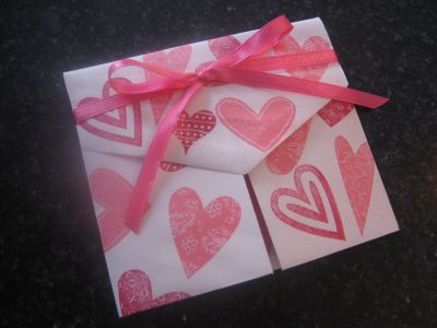 4 Images of Family Fun Valentine's Printable Envelope