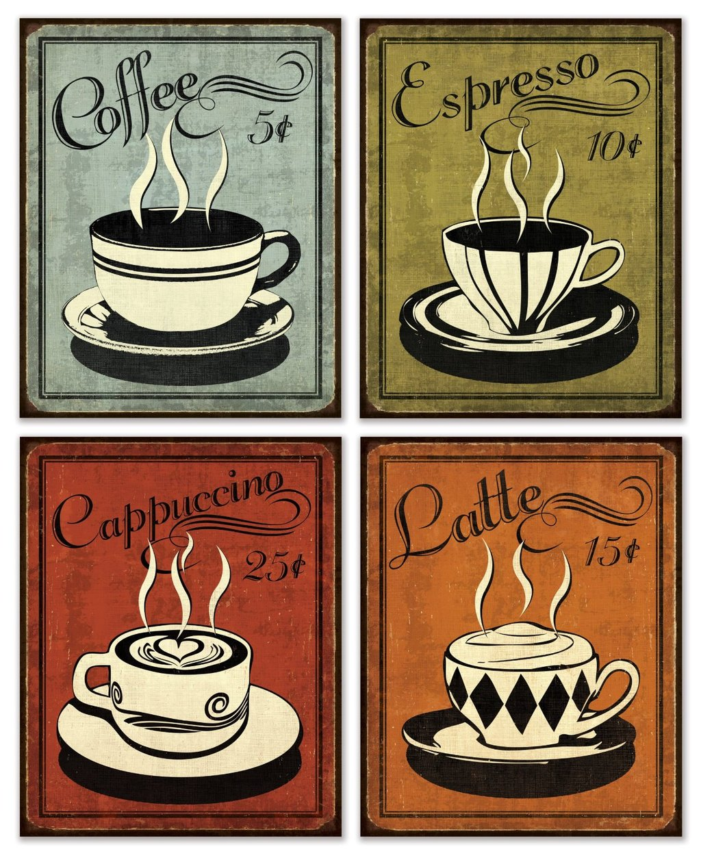 Coffee Posters Retro ~ Best images of printable vintage coffee posters