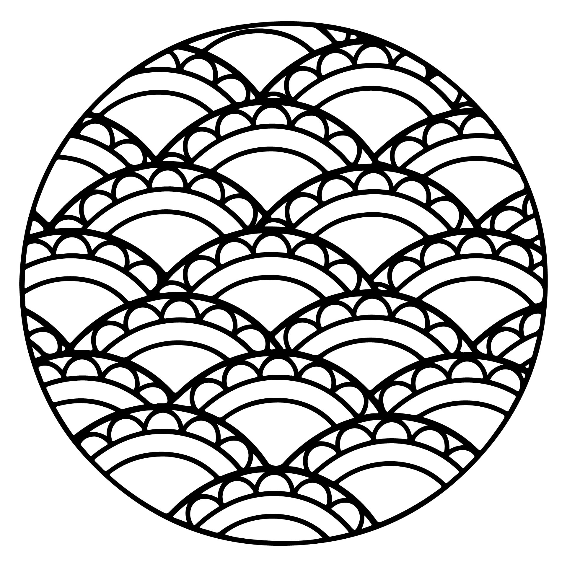 Zentangle Patterns Printable Coloring Pages