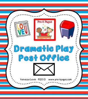 8 Images of Post Office Dramatic Play Printables