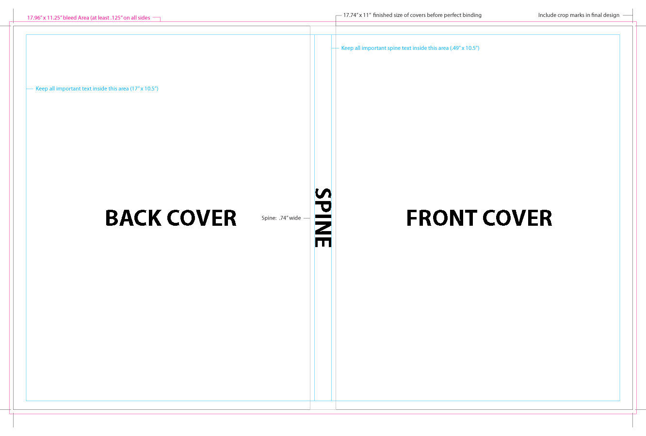 4 Images of Bound Book Template Printable