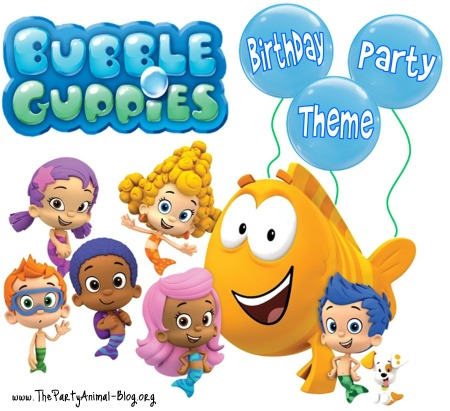 8 Images of Bubble Guppies Birthday Party Printables
