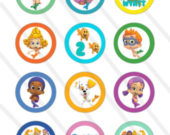 Bubble Guppies Party Printables