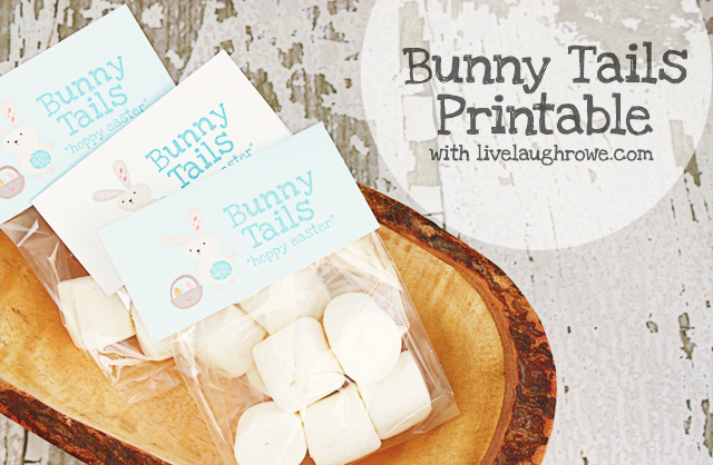 6 Images of Bunny Tail Printable Template