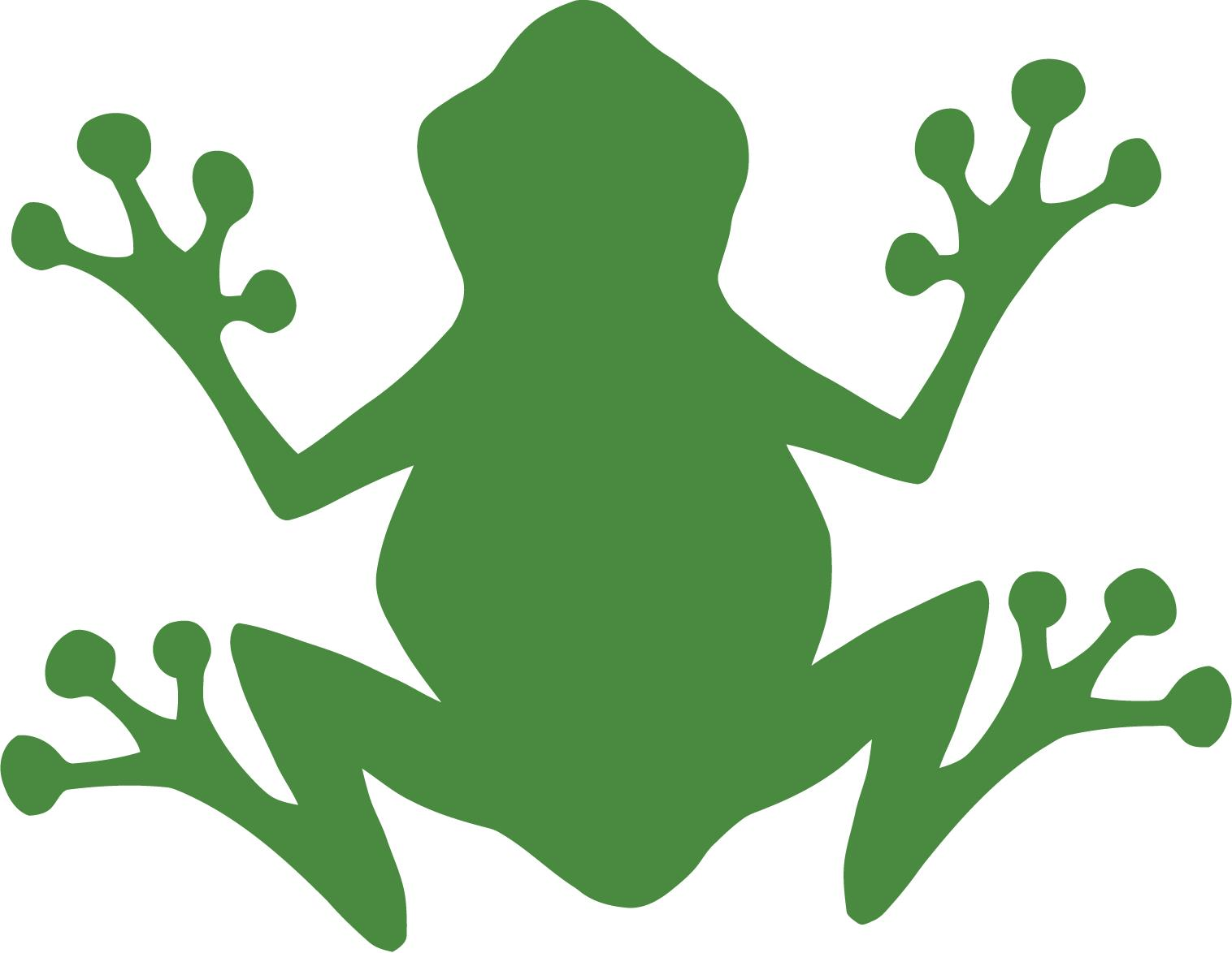 9 Images of Leaping Frog Stencils Printable