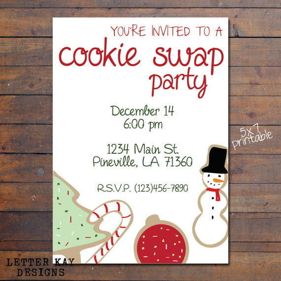 If you're hosting a holiday party this year and need a cookie exchange invitation, look no further! Punchbowl has free cookie exchange invitations that are guaranteed to get your guests' mouths watering as soon as they see them.
