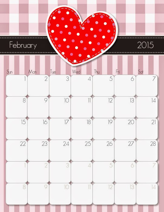 5 Images of Free Cute Printable January 2015 Calendar